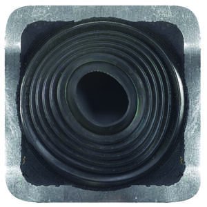 Oatey  Master Flash  4-3/4 in. H x 10 in. W x 10 in. L Black  Metal/Plastic/Rubber  Roof Flashing  S