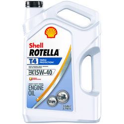 Shell  Rotella T4  15W-40  Diesel Engine  Heavy Duty  Engine Oil  1 gal.