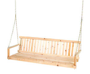 Jack Post  Jennings  Wood  Porch Swing  60 in. 21-1/2 in. 1  2 person  17-3/4 in. 400 lb. capacity