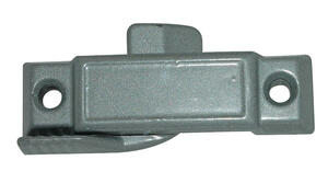 Barton Kramer  Gray  Zinc  Window Latch  25/32 in. W x 2-15/16 in. L 1 pk