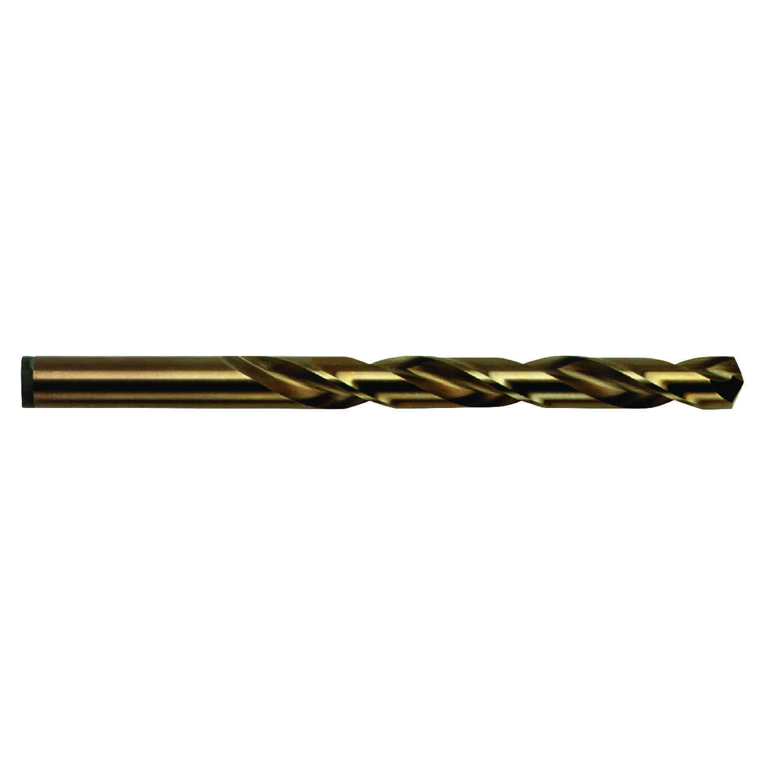 Irwin  Cobalt  19/64 in. Dia. x 4-3/8 in. L High Speed Steel  Drill Bit  Straight Shank  1 pc.