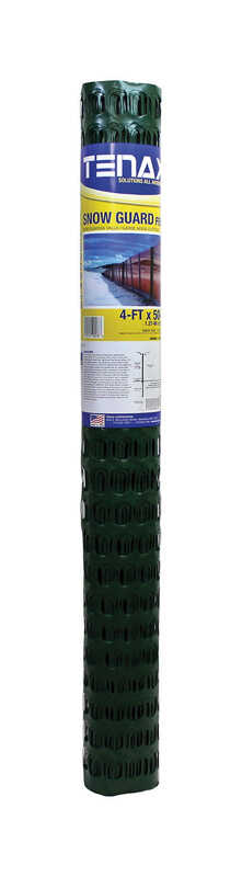 Tenax  48 in. H x 50 ft. L Polyethylene  Snow Fence