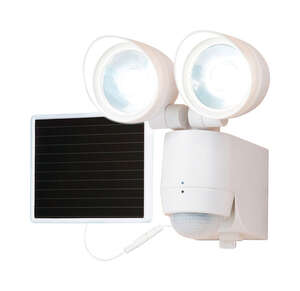 All-Pro  Motion-Sensing  Solar Powered  White  Entry Light