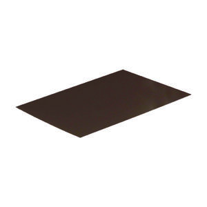 Amerimax  5 in. W x 7 ft. L Aluminum  Step Flashing Shingle  Brown