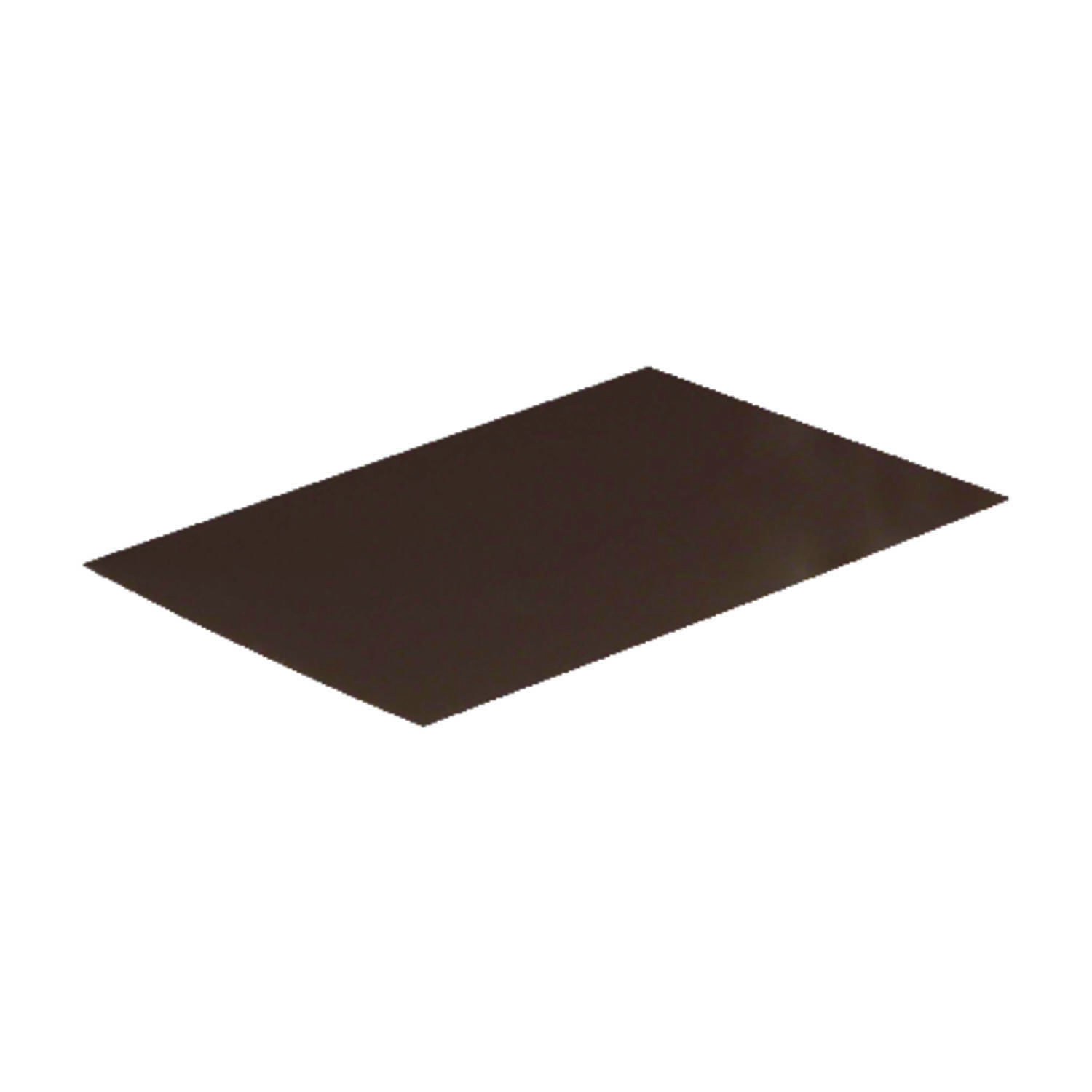 Amerimax  5 in. H x 5 in. W x 7 ft. L Aluminum  Brown  Step Flashing Shingle  Rectangle