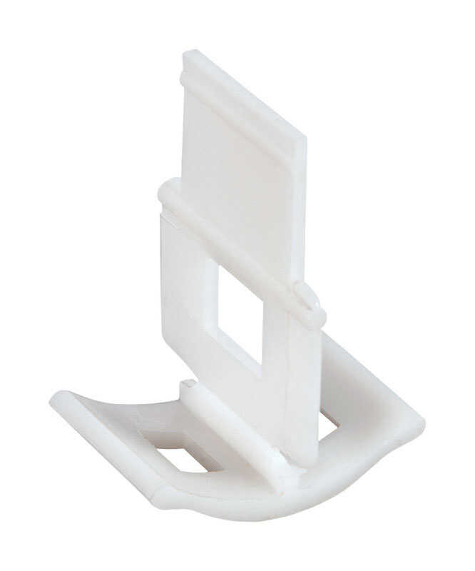 QEP  Lash  1 in. Dia. Plastic  Tile Spacer Clips  300 pk