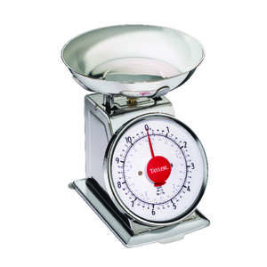Taylor  Silver  Food Scale  11 Weight Capacity Analog