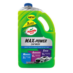 Turtle Wax  M.A.X. - Power  Liquid  Car Wash Detergent  100 oz.