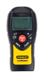 Stanley  IntelliMeasure  Distance Estimator  Yellow  6 in. W x 5.8 in. L 1 pc. 40 ft.