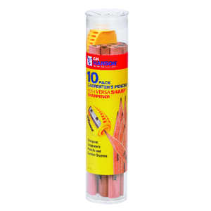 C.H. Hanson  8.5 in. L x 2 in. W Carpenter Pencil Kit  Beige  Wood  11 pc.