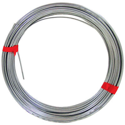 OOK  100 ft. L Galvanized  Steel  12 Ga. Wire