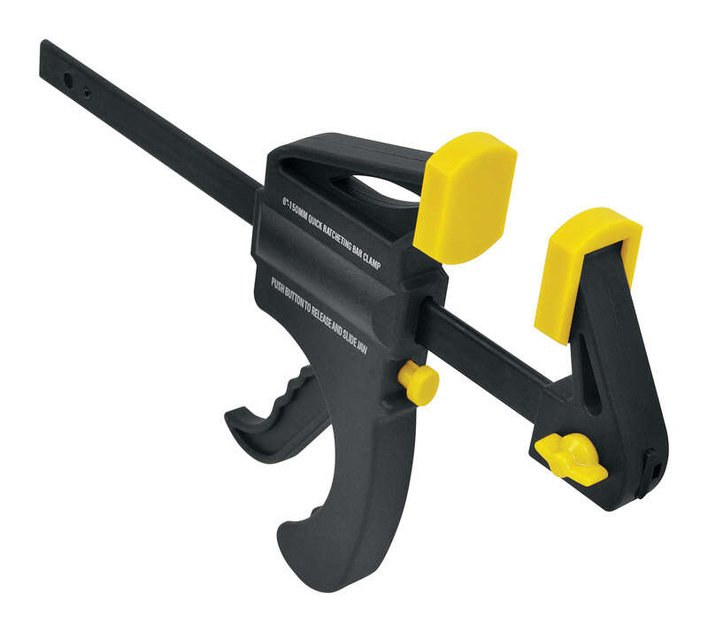 Steel Grip  6 in.  x 1-1/2 in. D Bar Clamp  40 lb.