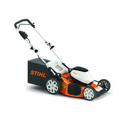 STIHL  RMA 460  19 in. Battery  Push  Mulching Lawn Mower Set