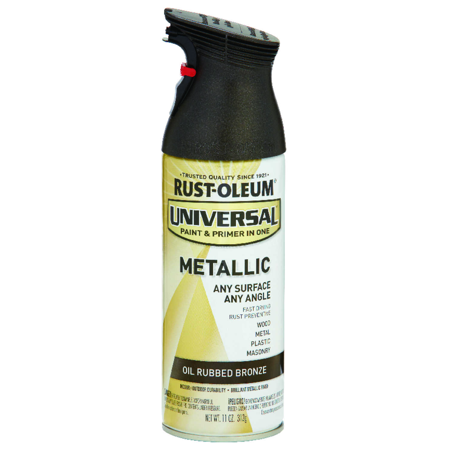 Rust-Oleum  Universal Paint & Primer in One  Oil Rubbed Bronze  Spray Paint  11 oz.