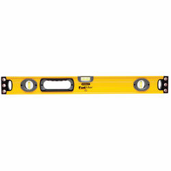 Stanley  Fat Max  24 in. Aluminum  Box Beam  Level  3 vial