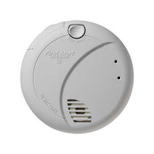 First Alert  Hard-Wired w/Battery Back-up  Photoelectric  Smoke Detector