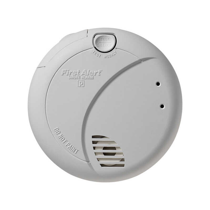 First Alert  Hard-Wired w/Battery Back-up  Photoelectric  Smoke/Fire Detector