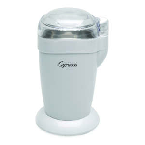 Capresso  White  Plastic/Steel  1  Coffee Grinder