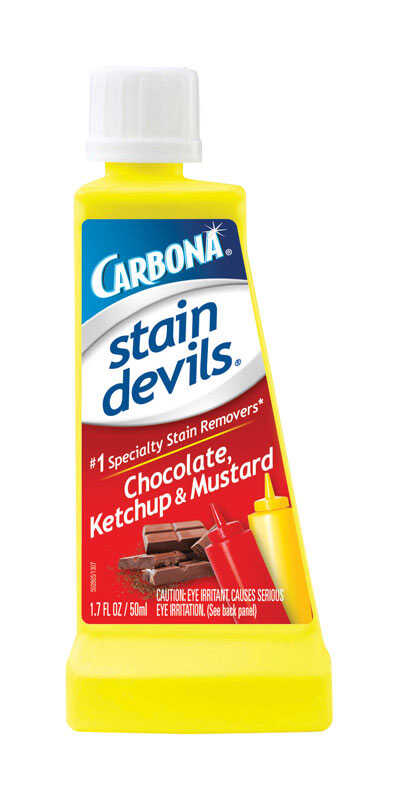 Carbona  Stain Devils Chocolate, Ketchup and Mustard  No Scent Stain Remover  Liquid  1.7 oz.