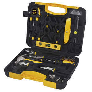 Steel Grip  Multi-Tool Set  Black/Yellow  76 pc.