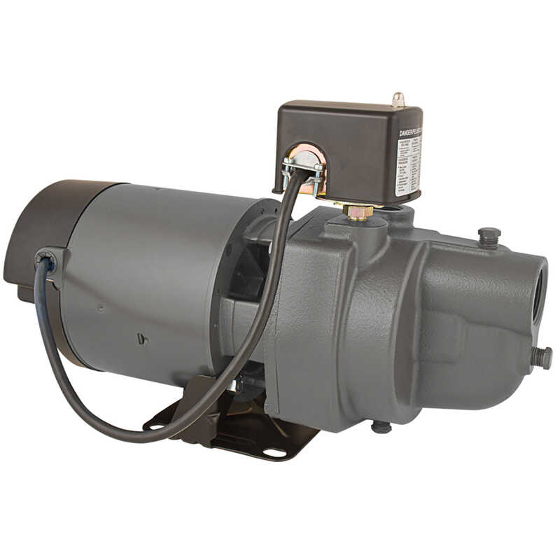 Star Water Systems  1/2 hp 630 GPH  Cast Iron  Shallow Well Jet Pump