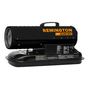 Remington  45000 BTU/hr. 1125 sq. ft. Forced Air  Kerosene  Kerosene Heater