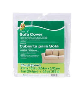 Duck  41 in. W x 131 in. L Sofa/Furniture Cover