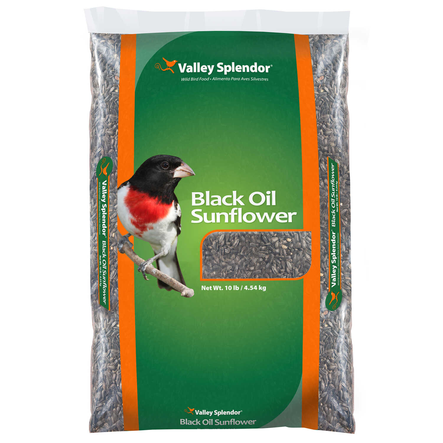 Valley Splendor  Assorted Species  Wild Bird Food  Black Oil Sunflower Seed  10 lb.