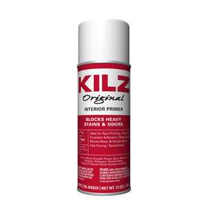 Kilz  Original  White  Oil-Based  Primer  13 oz. For Wood, Drywall, Plaster, Paneling, Wallpaper, Ma