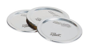 Ball  Regular Mouth  Canning Lid  12 pk