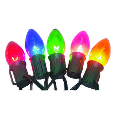 Celebrations  Incandescent  Multicolored  25 count Light Set  24 ft.