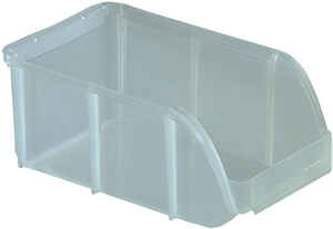 Iris  3 in. H x 4.5 in. W x 7.5 in. D Stackable Storage Bin