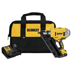 DeWalt 20V MAX Cordless 30 deg. Framing Nailer Kit 20 volt