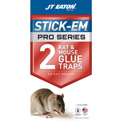 JT Eaton Stick-Em Glue Trap For Rodents 2 pk