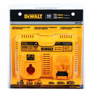 DeWalt  12 volt Lithium-Ion  Dual Battery Charger  1 pc.
