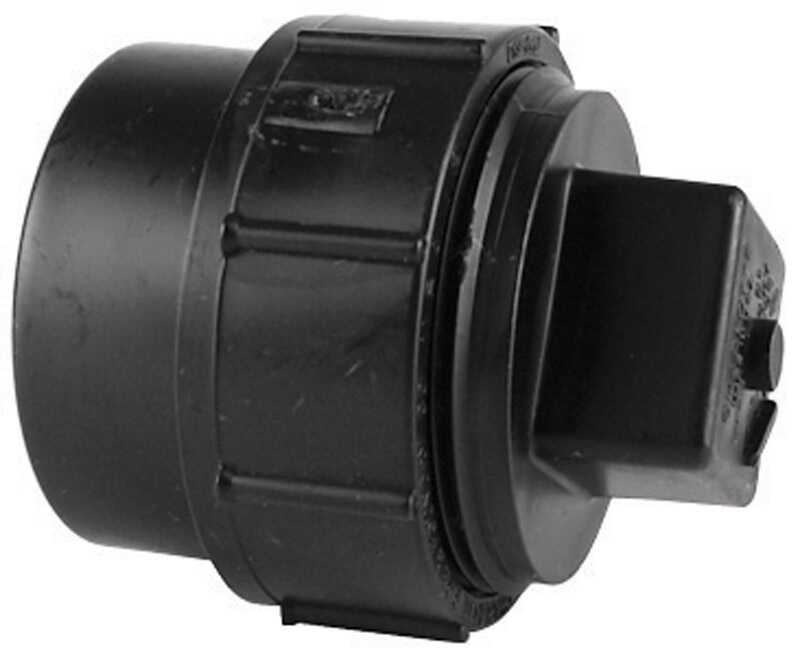 Charlotte Pipe  4 in. Spigot   x 4 in. Dia. FPT  Pipe Adapter