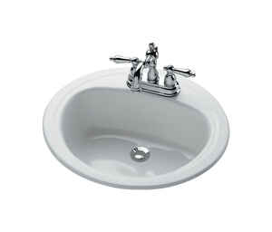 Bootz  Laurel  Round  Lavatory Sink  White