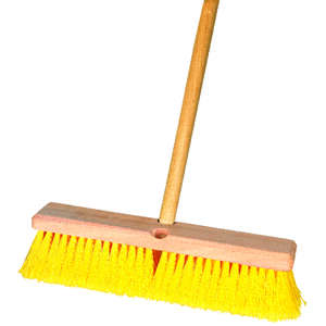 Ace  Multi-Surface Push Broom  14 in. W x 60 in. L Synthetic