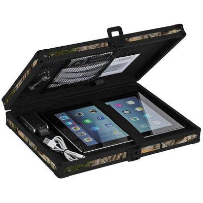 Vaultz  Camo  Key Lock  Black  Clipboard