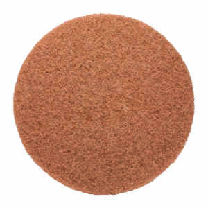 Gator  13 in. Dia. Non-Woven Natural/Polyester Fiber  Floor Pad Disc  Tan