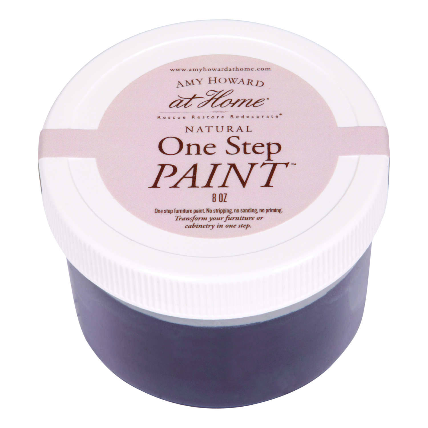 Amy Howard at Home  Flat Chalky Finish  Black  One Step Paint  8 oz.