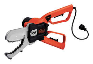 Black and Decker  Alligator  6 in. Electric  Chainsaw