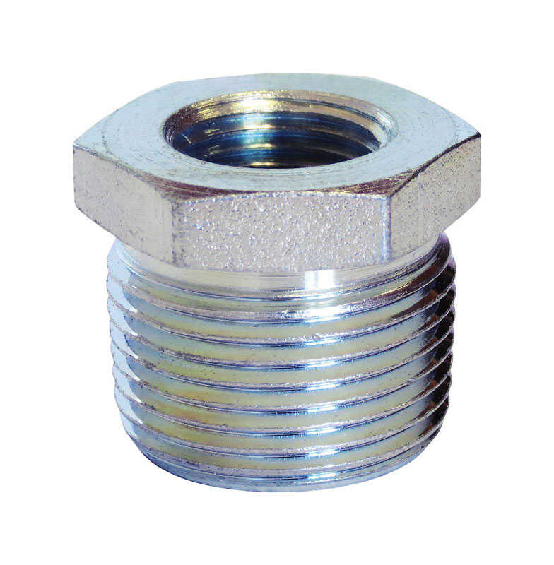 Anvil  1/4 in. MPT   x 1/8 in. Dia. FPT  Galvanized  Steel  Hex Bushing