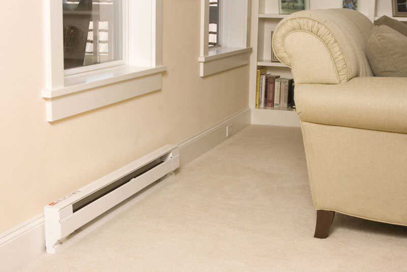 Cadet  300 sq. ft. 6,825 BTU Convection  Baseboard Heater