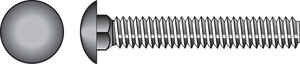 Hillman  1/4 in. Dia. x 1-1/2 in. L Zinc-Plated  Steel  Carriage Bolt  100 pk