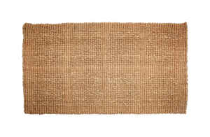 J & M Home Fashions  Beige  Coir  Nonslip Door Mat  14 in. L x 24 in. W
