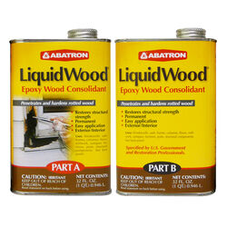 Abatron LiquidWood Clear Epoxy Wood Consolidant Kit 2 qt.
