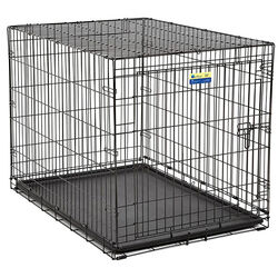 Contour  Large  Steel  Dog Crate  28 in. H x 30 in. W x 42 in. D