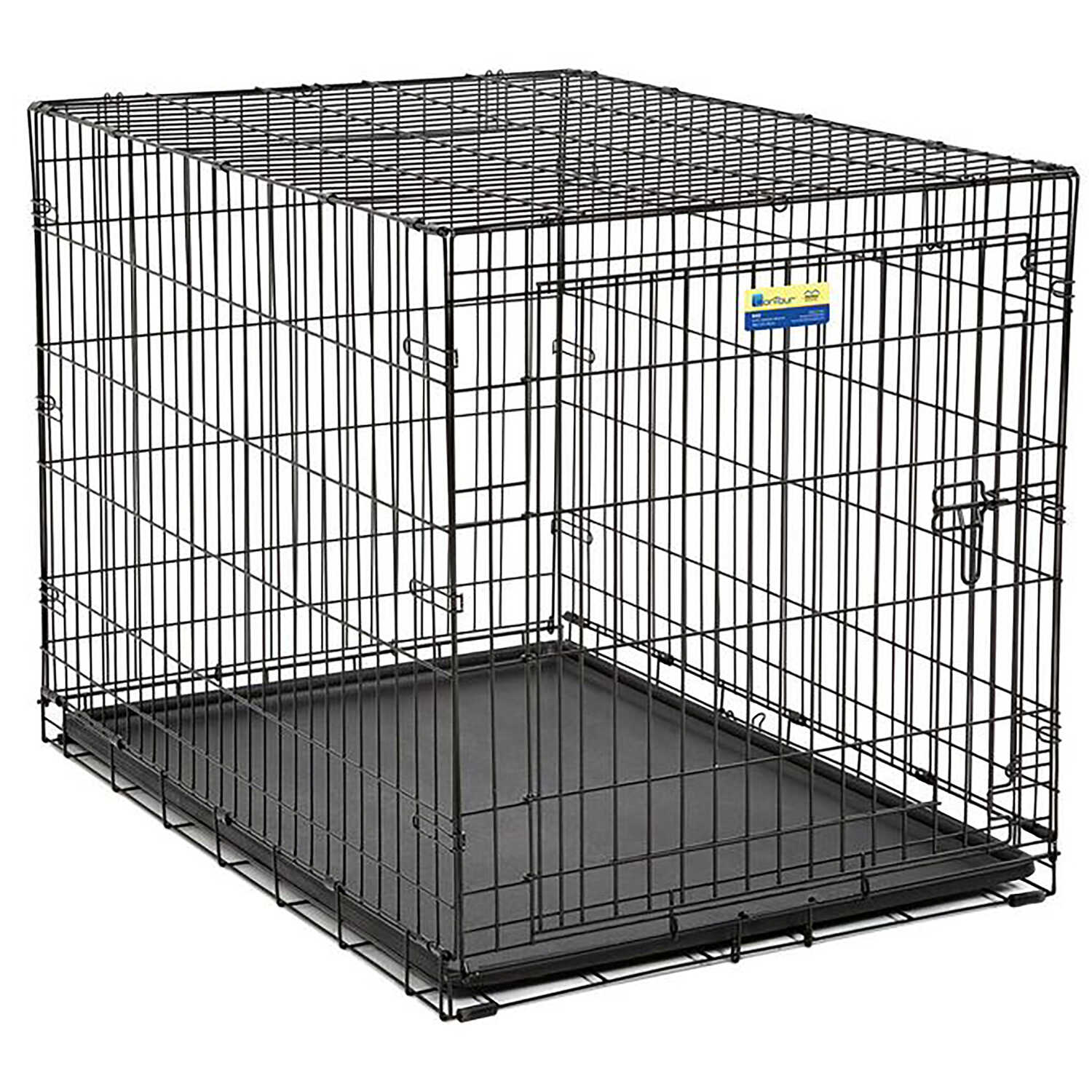 Contour  Large  Steel  Dog Crate  30.6 in. H x 30 in. W