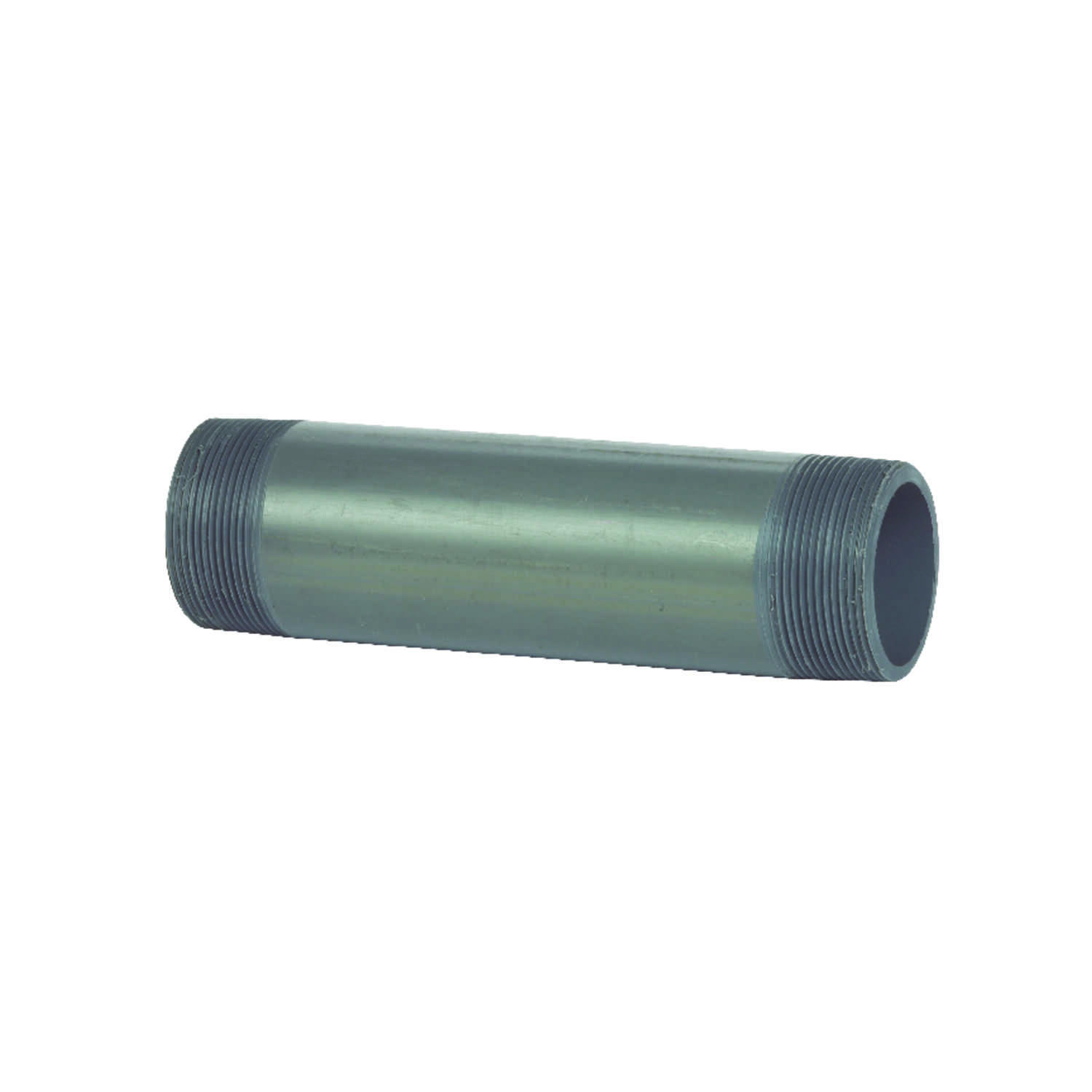 B&K  Schedule 80  2 in. MPT   x 2 in. Dia. MPT  PVC  For Pressure Applications Pipe Nipple